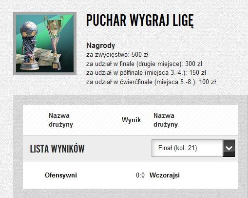 Finał Pucharu Wygraj Ligę