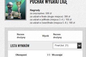 Ostatnia kolejka Wygraj Ligę. Finał Pucharu!