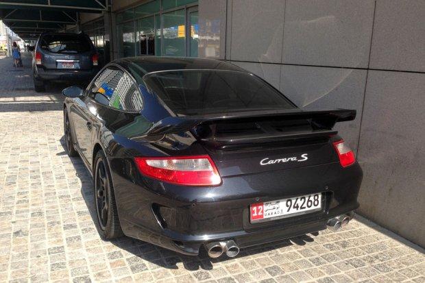 Porsche w Dubaju