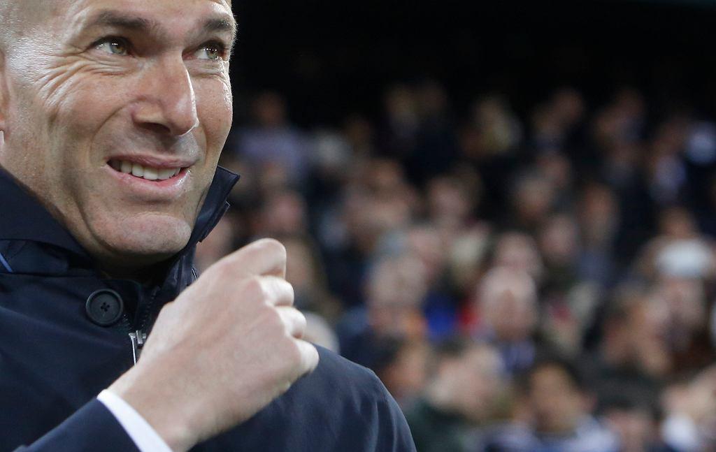 Zinedine Zidane broni zawodników po porażce z Valencią