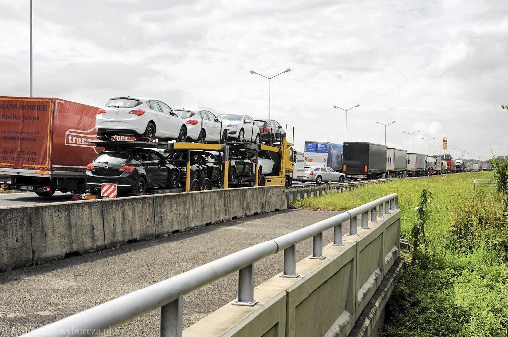 Karambol na autostradzie A4. Droga w kierunku Wrocławia jest zablokowana (fot. ilustracyjna)
