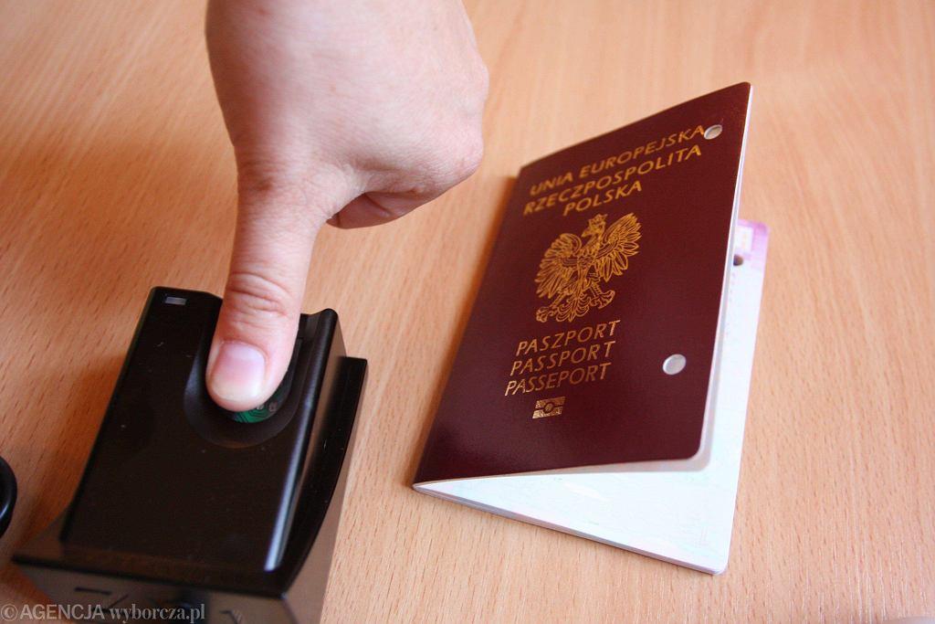Paszport - zabezpieczenia biometryczne