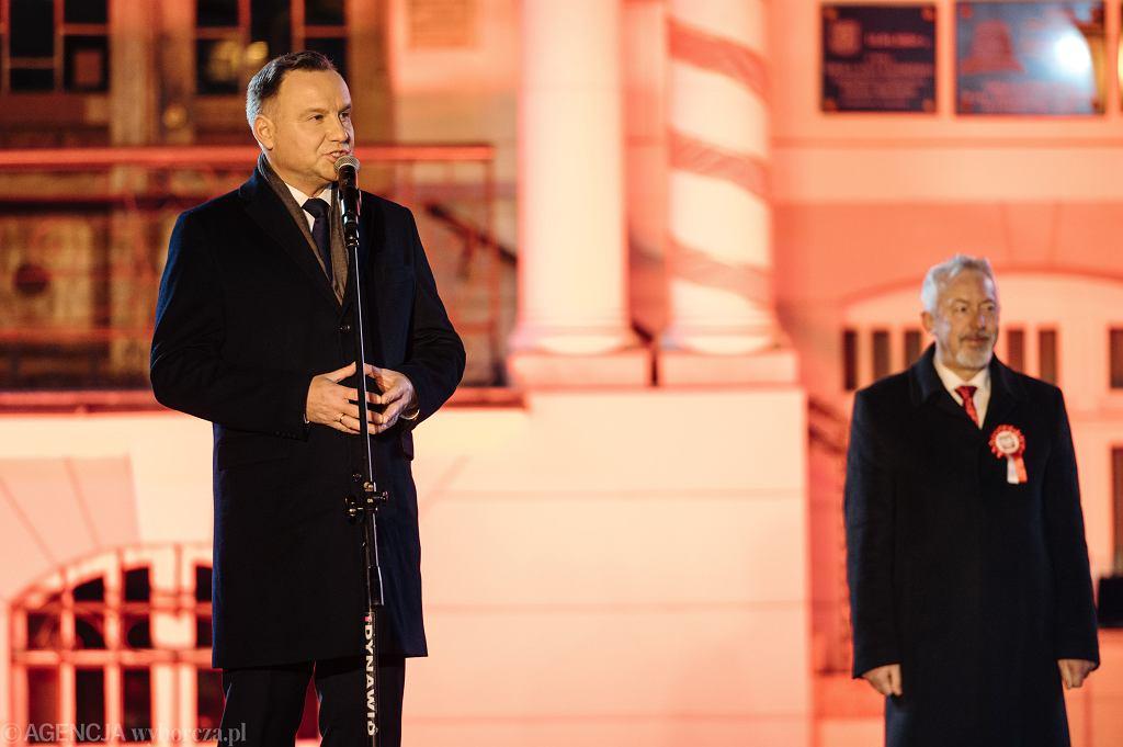 Prezydent Andrzej Duda w Wejherowie