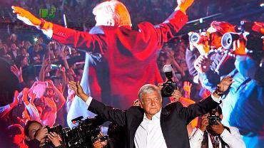Wybory w Meksyku. Lider sondaży Andres Manuel Lopez Obrador