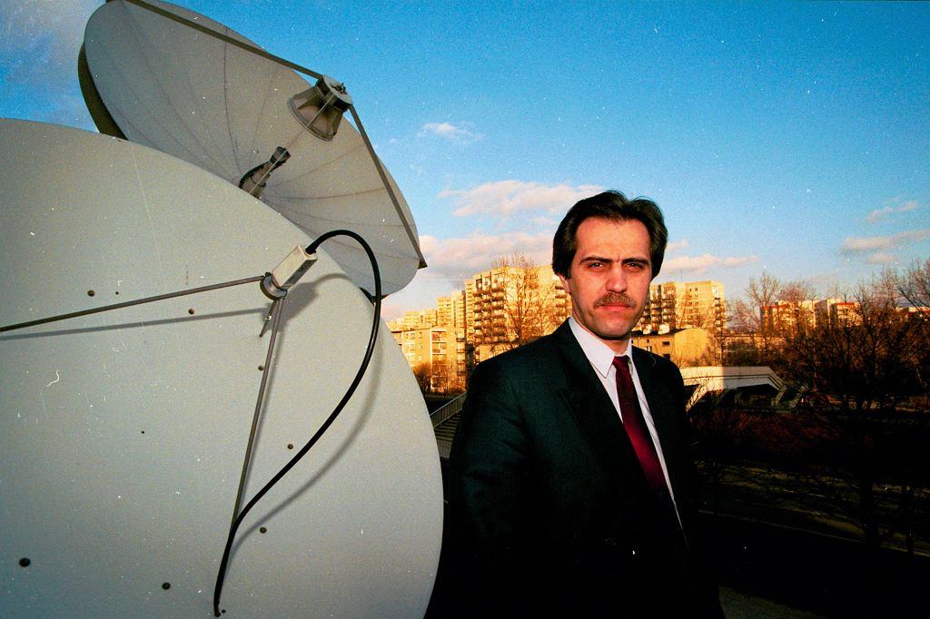 Biznesmen w 1995 r. (fot. Sławomir Kamiński / Agencja Gazeta)