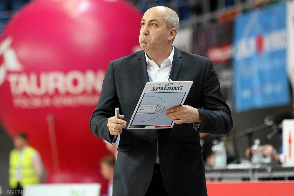 Trener Startu Lublin Dusan Radović