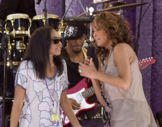 %09/01/2009 - Bobbi Kristina Brown and Whitney Houston - Whitney Houston in Concert on Good Morning America Summer Concert Series - September 1, 2009 - Rumsey Playfield, Central Park - New York City, NY, USA - Keywords:  - 0 -  - Photo Credit: Janet Mayer / PR Photos - Contact (1-866-551-7827)