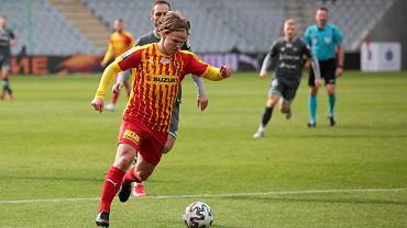 Petteri Forsell podczas meczu Korona Kielce - Lechia Gdańsk 1:2