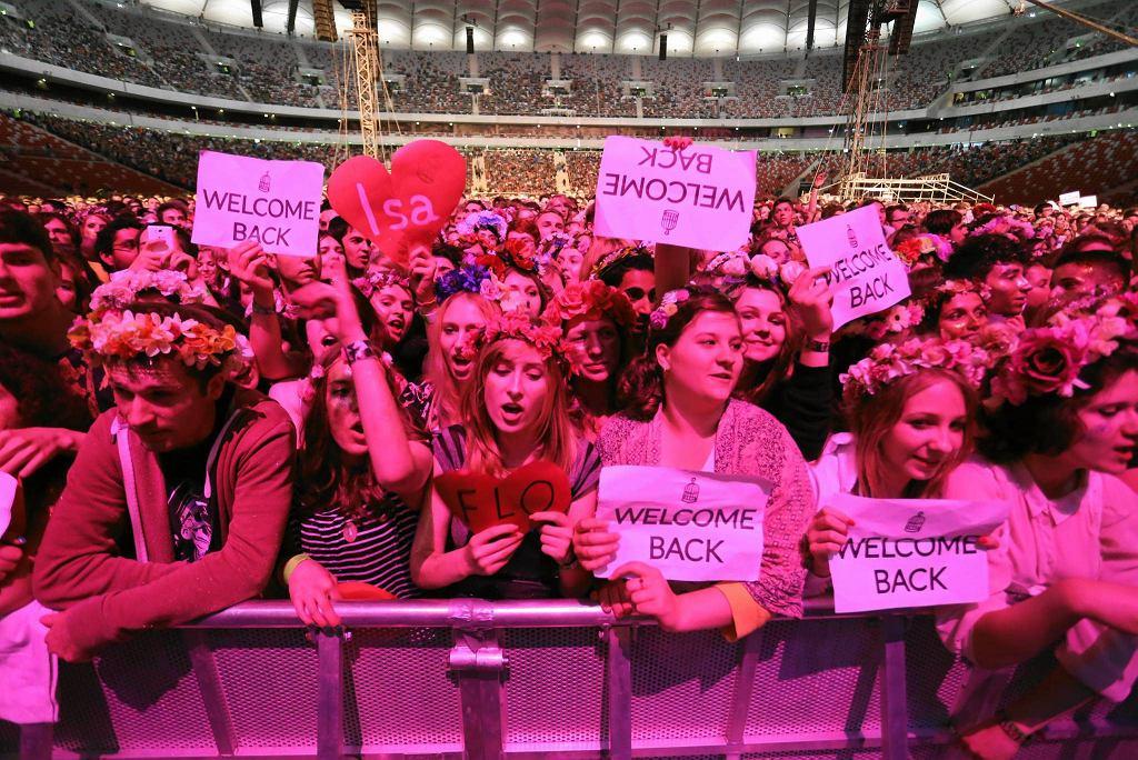 Warsaw Orange Festival - koncert Florence and The Machine / Fot. Franciszek Mazur / Agencja Gazeta