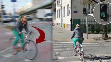 Najczęstsze błędy popełniane przez rowerzystów.