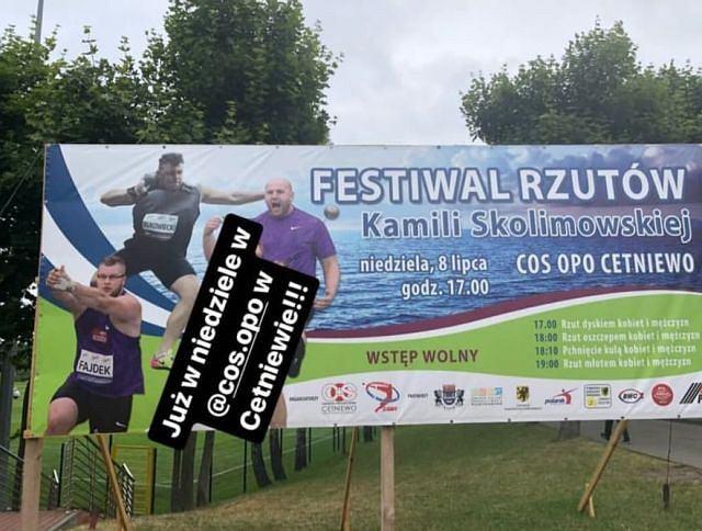 Konrad Bukowiecki zaprasza na Festiwal Rzutów Kamili Skolimowskiej. Anita Włodarczyk odmawia udziału w imprezie.