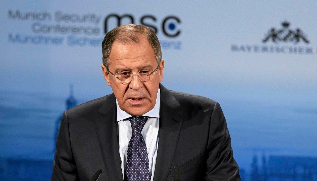 Siergiej Ławrow, szef MSZ Rosji