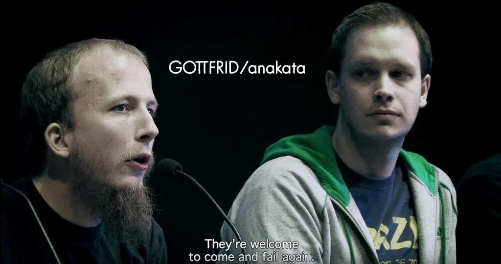 Od lewej: Gottfrid Svartholm oraz Peter Sunde