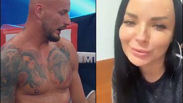 Dziewczyna Artura Szpilki skomentowała jego zwycięstwo. 'W boksie zupełnie inaczej liczy się punkty'