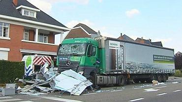 Polski kierowca spowodował wypadek w Bierbeek