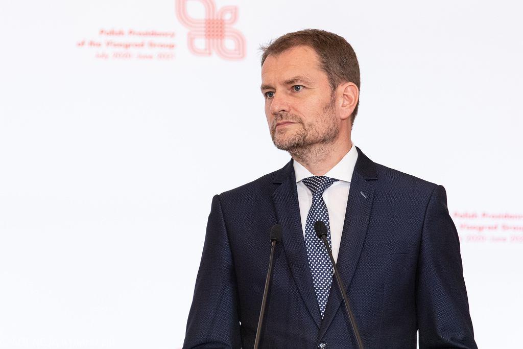 9Konferencja prasowa premierw panstw Grupy Wyszehradzkiej