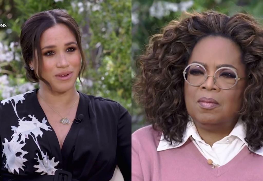 Meghan Markle i Oprah Winfrey