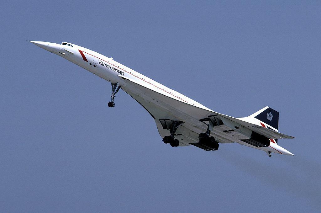 Concorde w barwach British Airways