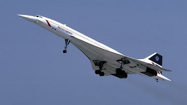 Concorde w barwach British Airways