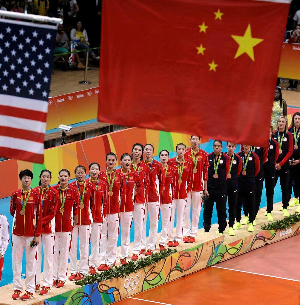 Chińskie siatkarki w Rio