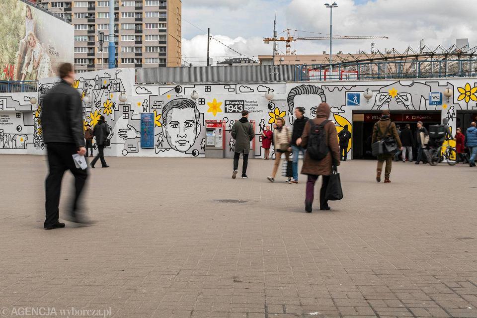 Zdjęcie numer 19 w galerii - Rocznica powstania w getcie warszawskim. Żonkil oznacza pamięć