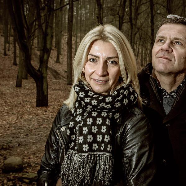 Małgorzata Szewczyk-Nowak z mężem Arturem Nowakiem - prawnikiem, obrońcą ofiar księży pedofilów, jednym z bohaterów filmu Sekielskich