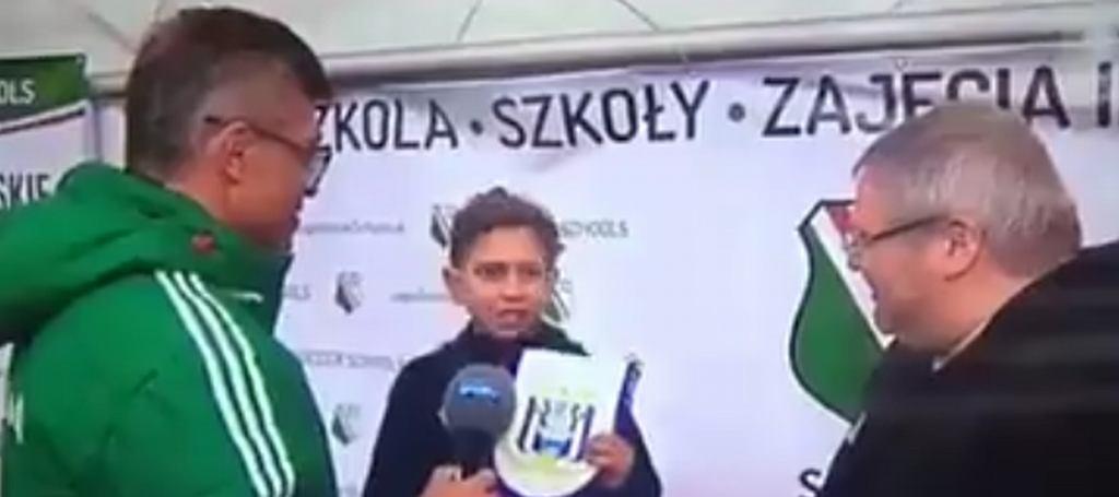 Rayan Akheidiou, 10-latek z Anderlechtu wyśmiał Teodorczyka