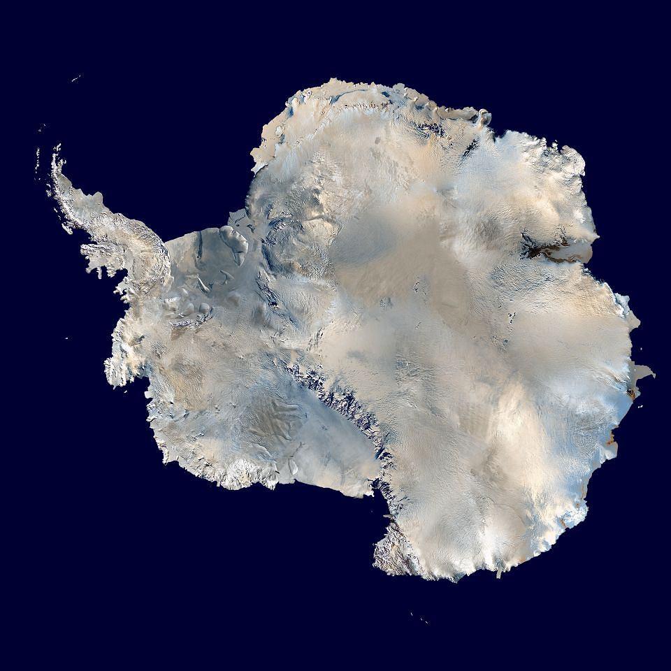 Antarktyda w ujęciu NASA