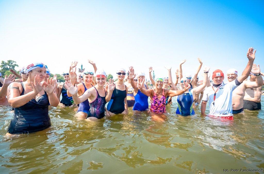 II wyścig pływacki dookoła molo Timex Cup 2015