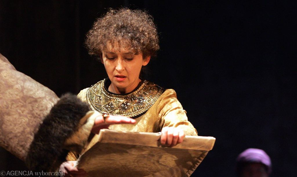 Beata Fudalej - próba do spektaklu Król Lear (2006)