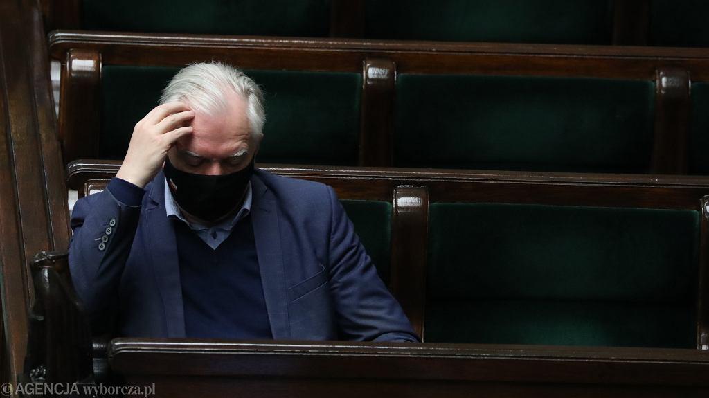 Jarosław Gowin o pobycie w szpitalu: Codziennie jestem świadkiem ludzkich dramatów