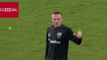 Wayne Rooney w trakcie meczu D.C. United - Orlando City