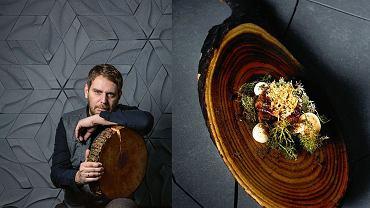 Wojciech Modest Amaro. Na zdjęciu obok - seler, kwas chlebowy, opieńka