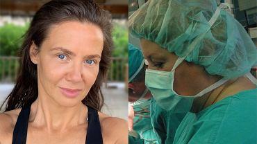 Kinga Rusin wspiera harujące medyczki. Sama będzie wygrzewać się na Malediwach