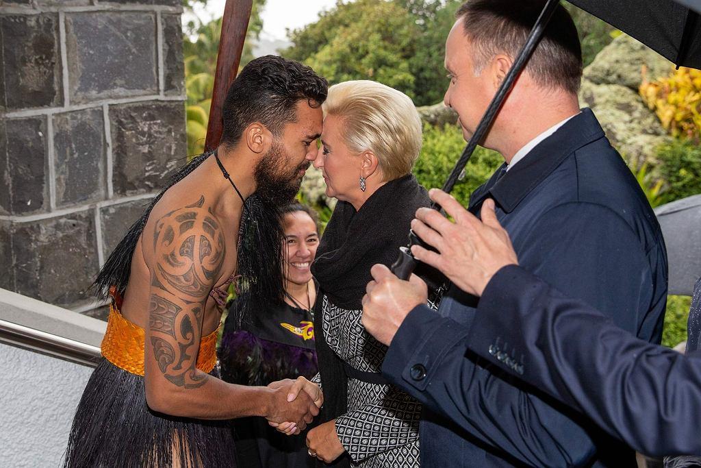 Prezydent Andrzej Duda i Agata Duda z wizytą w Nowej Zelandii