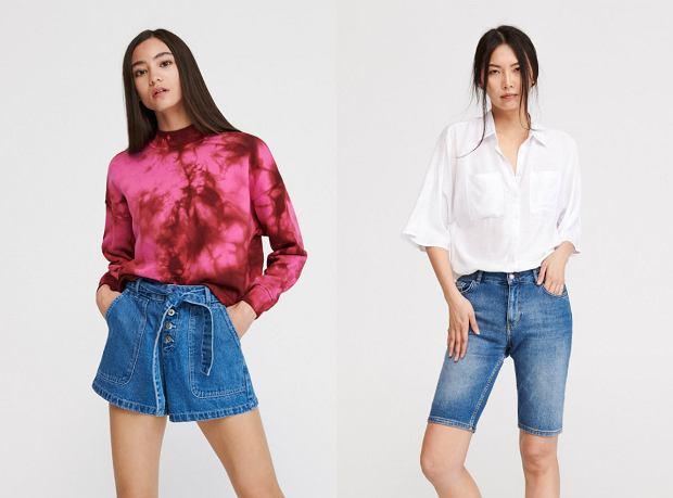 Jeansowe szorty na lato
