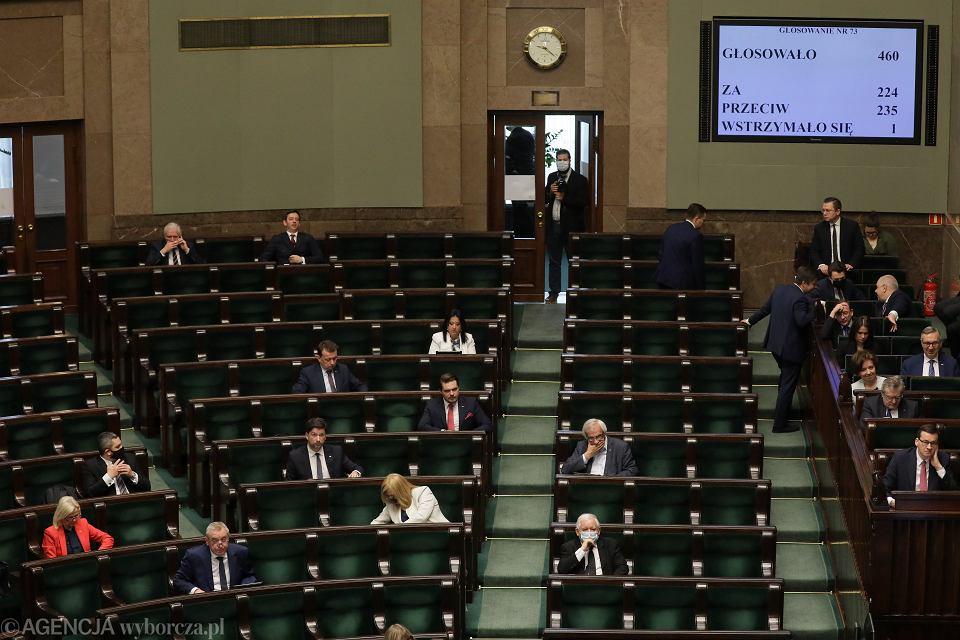 5 dzień 11. posiedzenia Sejmu IX Kadencji. Warszawa, 7 maja 2020