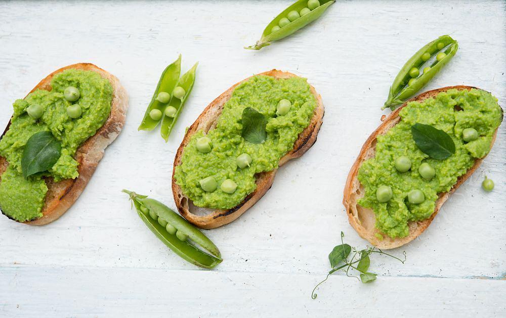 Puree z zielonego groszku to prawdziwy hit - na obiad i kolację