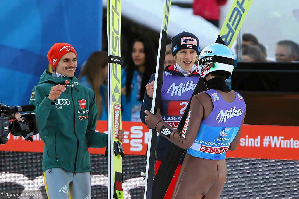 Kamil Stoch wygrał drugi konkurs Turnieju Czterech Skoczni