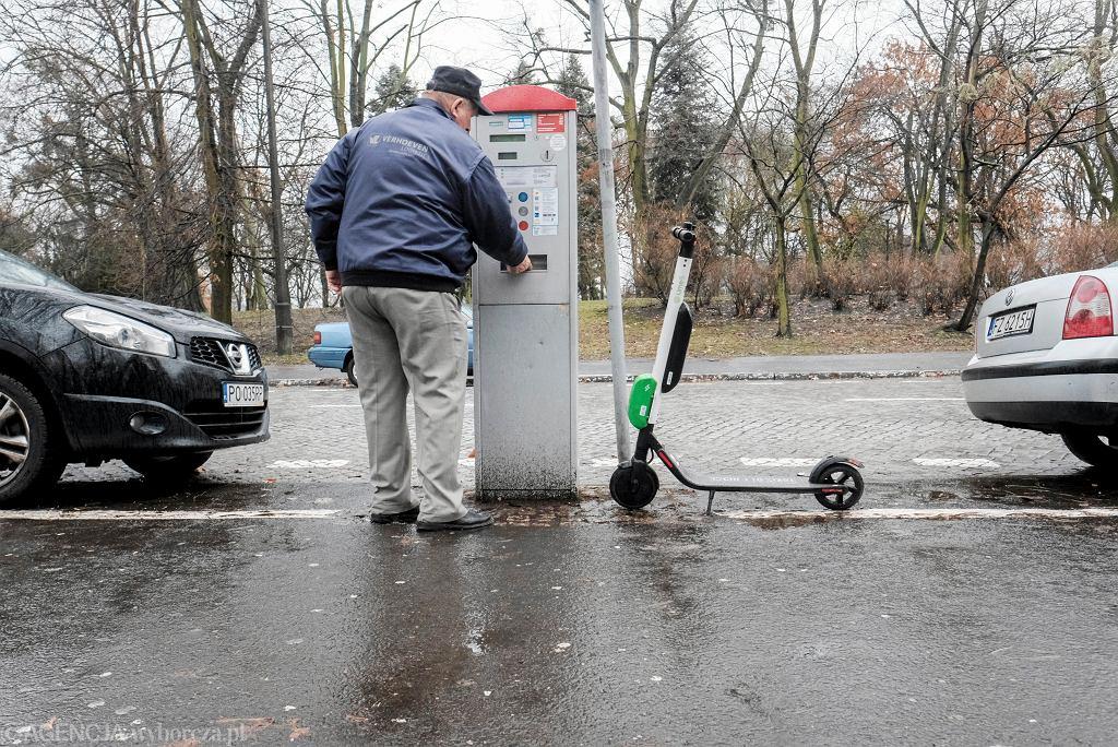 Parkometry w Poznaniu