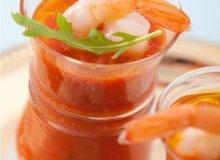 Chłodnik z pieczonych warzyw - ugotuj