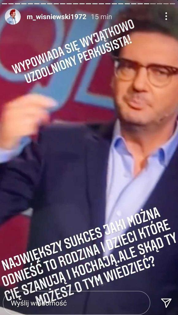 Michał Wiśniewski opowiada na zaczepkę Kuby  Wojewódzkiego