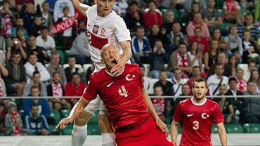 Polska - Turcja U21. Bartłomiej Pawłowski