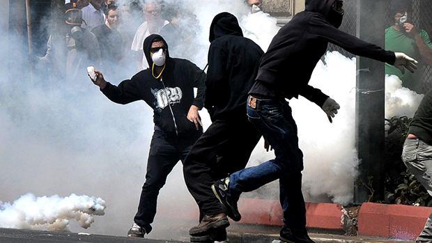 Gracja 2010, zamieszki