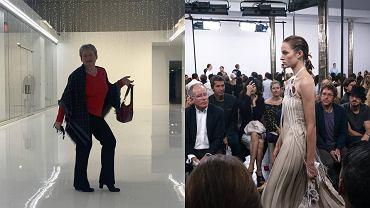 Magdalena Koluch / Modelka na pokazie Gabrieli Hearst na wiosnę- lato 2020 w stroju stworzonym przez Polkę