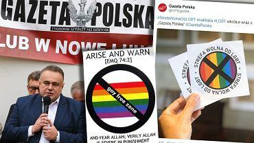 Redaktor naczelny 'Gazety Polskiej' Tomasz Sakewicz