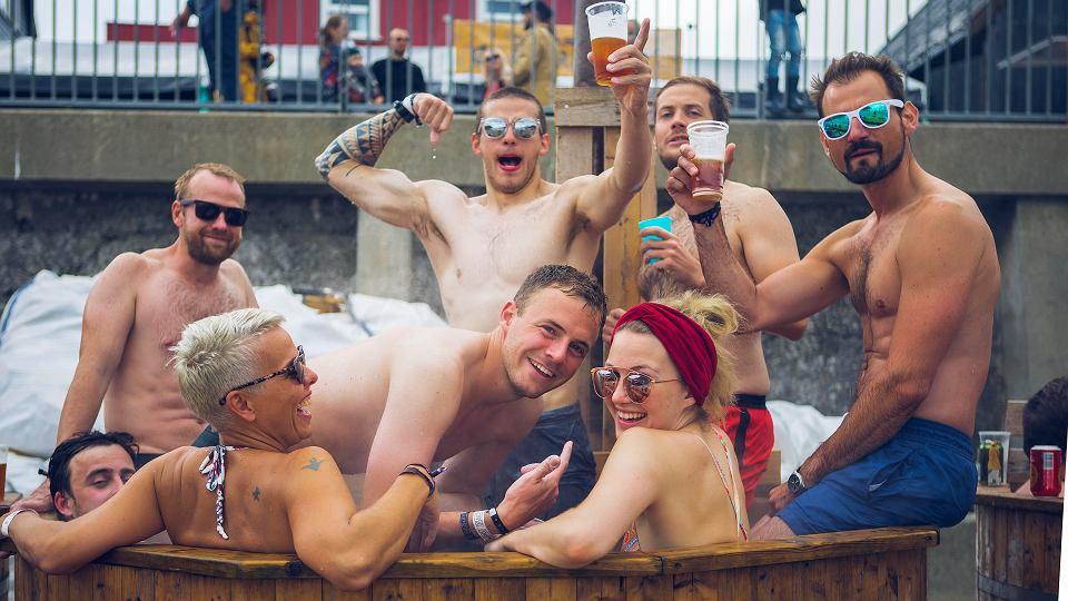 Impreza podczas G! Festivalu 2017 na Wyspach Owczych,