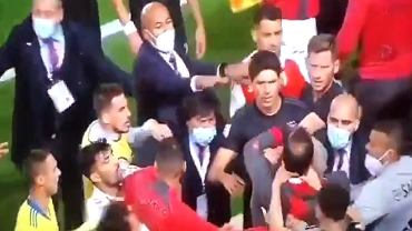Awantura w meczu Benfica - Braga