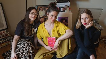 Paulina Klepacz, Kamila Raczyńska - Chomyn, Aleksandra Nowak, autorki książki 'Dziwki, zdziry, szmaty. Opowieści o slut-shamingu'