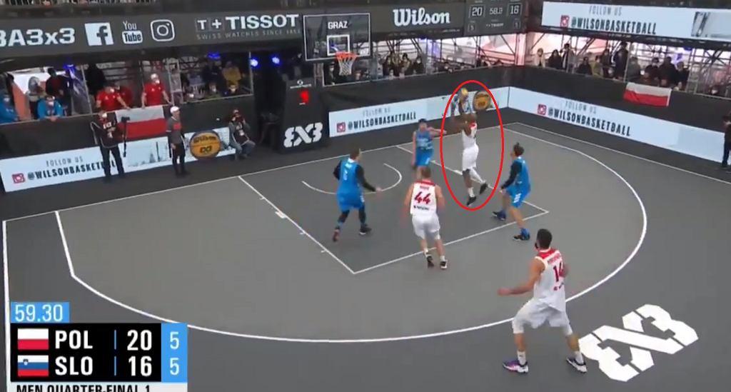 Polscy koszykarze 3x3 pokonali Słowenię!